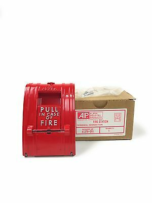 New AIP Alarm Industry Products Fire Pull Station edwards signaling 270a spo fire alarm pull station, single action  at fashall.co