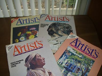 The Artist's Magazine - 1988 - Total of 4 - Painting