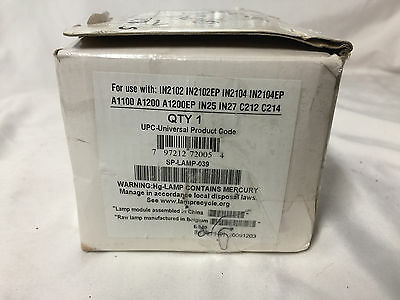 Replacement Projector Lamp Bulb SP-LAMP-039 For Many Projectors
