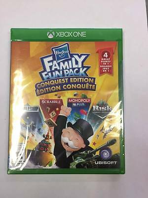 Hasbro Family Fun Pack Conquest Edition * Xbox One * Brand New Factory Sealed!
