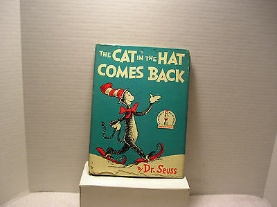 Dr SeussTHE  CAT IN THE HAT COMES BACK  1st Printing  1958