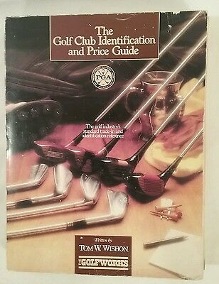 1985 Golf Club Identification & Price Guide Book, Tom Wishon, 1St Printing