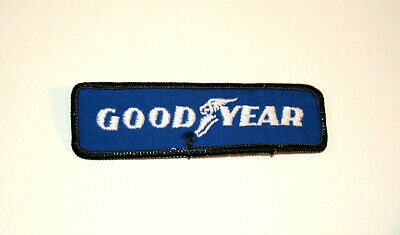 Vintage Goodyear Tire & Rubber Company Dealer Employee Cloth Patch New NOS 1970s