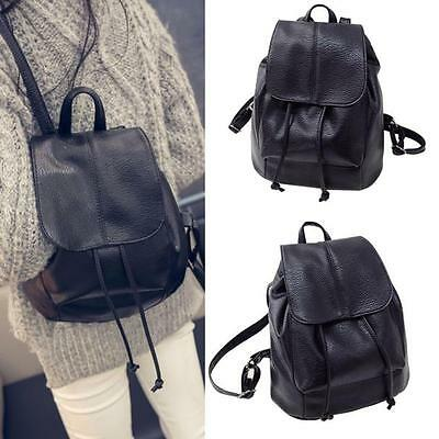 Fashion Women Leather Satchel Shoulder bags Backpack School Travel Rucksack Bags