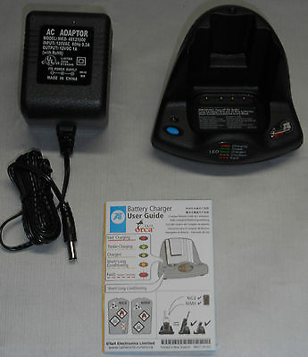 TAIT ORCA 5000 Series Desktop Radio Charger TOPA-CH-200 w// Power supply