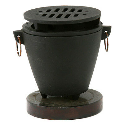 Mini Hibachi Stove Grill For Pu Pu Platters Hawaiian Tiki Bar Serveware
