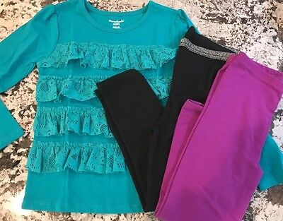 NWT 3pc. TODDLER GIRL CLOTHING LOT SIZE 5T