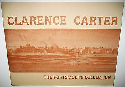 Clarence Carter Art Portsmouth Collection Ohio Museum 1984 Exhibition Catalogue