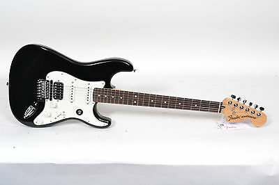 New Fender Fishman TriplePlay Stratocaster HSS - Black Electric Guitar