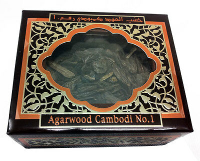 AL HARAMAIN Agarwood Cambodi No.1 incense oudh wood sticks chips oud aloeswood