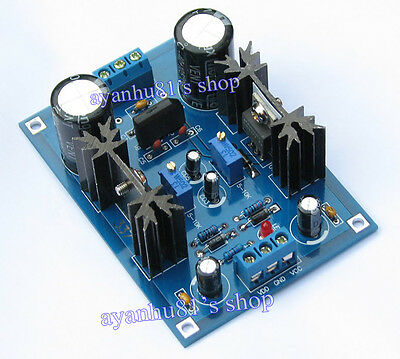 AC/DC 12V 24V LM317 LM337 Linear Voltage Regulator Adjustable Power Supply Board
