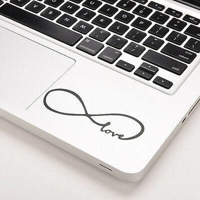 "Love Infinity Vinyl Decal Sticker Skin for Macbook Laptop Pro Air 13"" 15"" S&C"