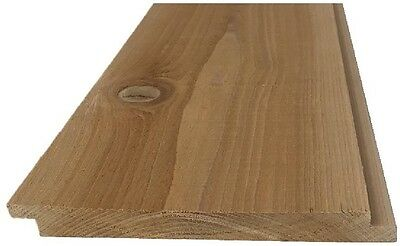 Pattern Stock 1 in. x 8 in. x 96 in. Western Red Cedar STK Shiplap Siding
