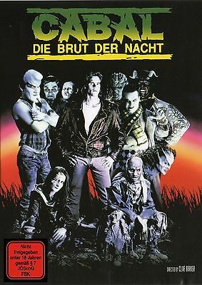Clive Barkers Cabal , 100% uncut , new and sealed , Nightbreed