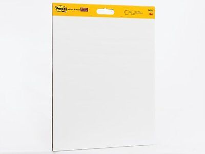 Post-it Wall Pad with Command Strips, 20 x 23-Inches, White, 20-Sheets/Pad