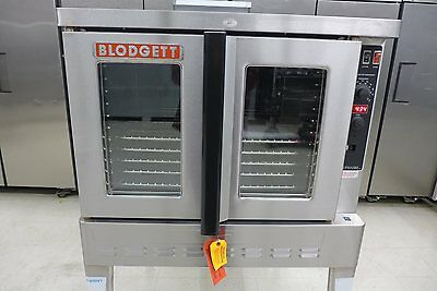 NEW Blodgett ZEPHAIRE-100-G Single Deck Full Size Gas Convection Baking Oven