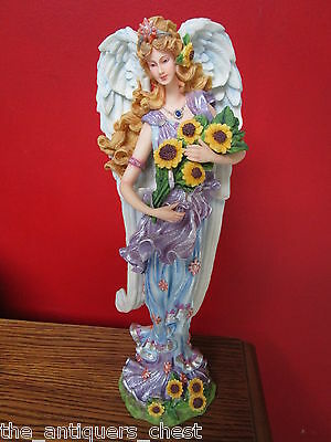 """Lenox Summer Angel pencil figurine, 13"""",  from the 4 Seasons 2000 collect [main]"""