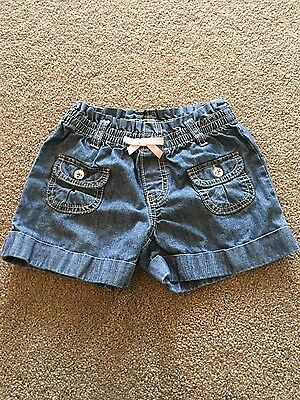 Girl's Gymboree Denim Shorts size 5