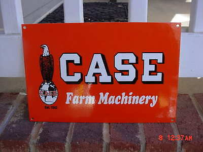Case tractor sign Farm machinery sign heavy steel