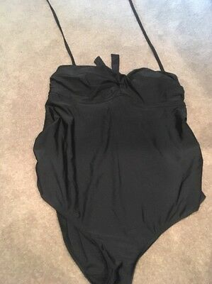 Black Liz Lange Maternity Swimsuit Size Extra Extra Large