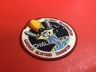 Space Shuttle Challenger Mission Crew Patch STS-8
