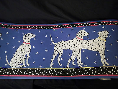 Dalmation Dogs Vintage Wallpaper Border 2 rolls 10.5 inches 5 yards