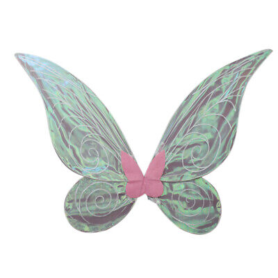 Glitter Color Changing Butterfly Angel Fairy Wings for Adult Kids Fancy Dress