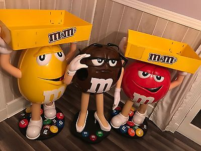 3 M&M Candy Store Display's