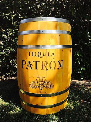 Awesome Patron Tequila Barrel ~ Store Display