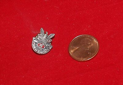 Vintage United States Treasury Department 15 Year Service Employee Pin Sterling