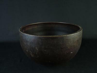 B5806:Japanese Old Copper BUDDHIST BELL Orin,Buddhist altar fittings