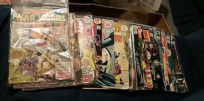 Star spangled war stories 28 issue silver bronze age comics lot unknown soldier