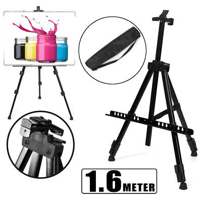 1.6M Drawing Board Artist Easel Sketch Painting Adjustable Tripod Display Stand