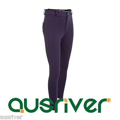 Junior Horse Riding Breeches Beginner Pants Girl Equestrian Clothing 6yrs-14yrs