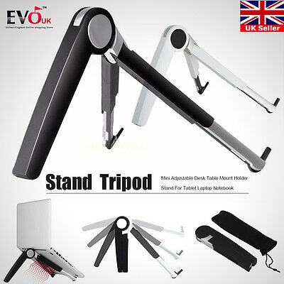 Portable Folding Desk Tripod Mount Stand Holder for MacBook PC Laptop Notebook