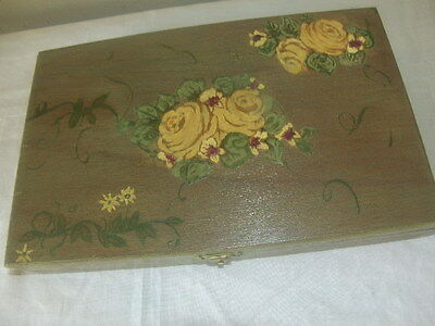 English Market Selection Tabacos Ornelas Mexico Cigar Box Decorative