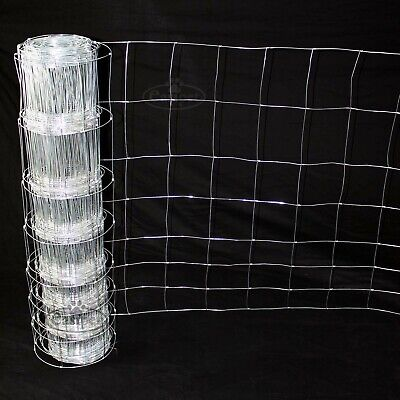 Stock Fencing L8/80/15 Sheep Pig Livestock Fence 50m Long 80cm High Galvanised
