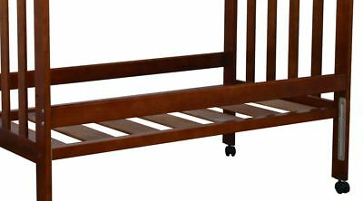 Childcare Ml Accessory Cot Bed Rails (Walnut) Free Shipping!