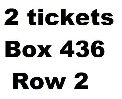 2 tickets - Chicago Cubs vs New York Yankees 05/05/17 (Box 436, 2nd row !)