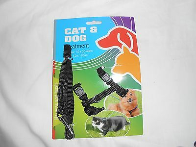 Cat and dog treatment harness and leash set complete puppies