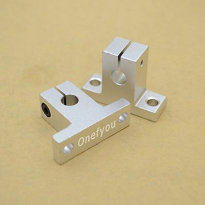 4pcs SK8 linear guide rail motion shaft Support For 8mm rod Reprap 3D printer
