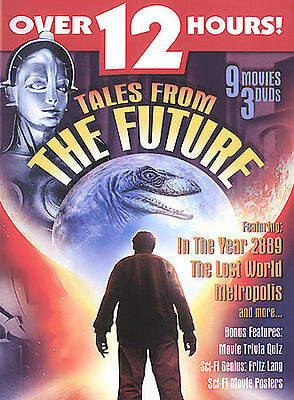 TALES FROM THE Future - 9 Movies 3 DVDS (DVD, 2005 3-Disc