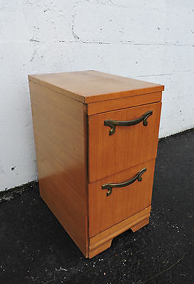 Narrow Mid Century Nightstand / End Table by Johnson-Carper 7355