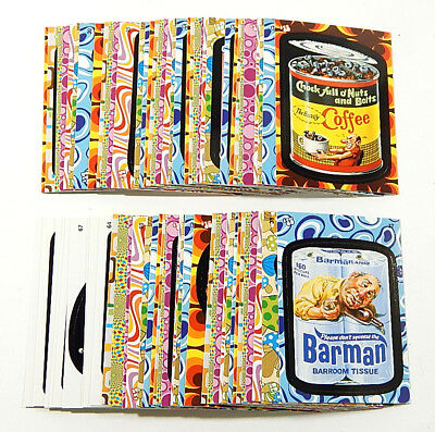 f323f76407c 2008 TOPPS WACKY Packages Flashback 2 Stickers Set (72) Nm Mt ...