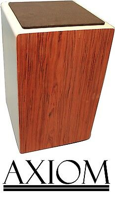 Axiom Cajon - 50cm Full Sized Cajon with Snare wire and Carry Bag