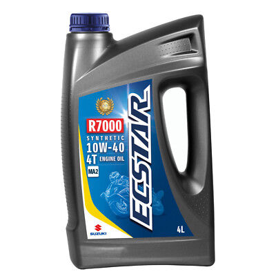 Suzuki ECSTAR R7000 Semi-Synthetic Engine Oil - 10W40 - 4 Litres Road Offroad 99