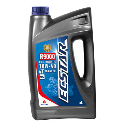 Suzuki ECSTAR R9000 Fully Synthetic Engine Oil - 10W40 - 4 Litres Road Dirt 9900