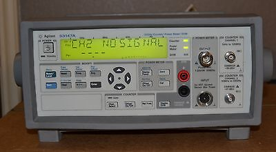 Agilent 53147A Microwave Frequency Counter 10hz-20GHz, Power Meter, DMM GOOD
