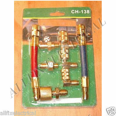 Car Airconditioning Regassing Adaptor Set - Part # CH-138