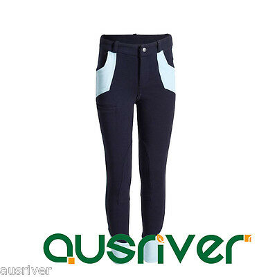 2017 Horse Riding Pants Children Jodhpurs Breeches Sport Clothing 6yrs-14yrs